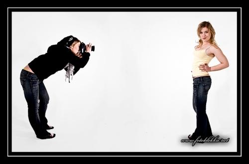 Fotografen vs. Modellen